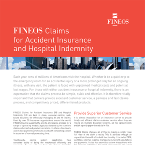 FINEOS Claims for Hospital Indemnity
